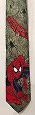 Amazing Spiderman Tie Green Version