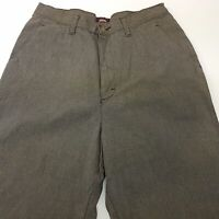 RIDERS Casuals  Mens Vintage Chino Pants Trousers W30 L30 Green Regular Straight