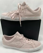 Converse One Star Chucks Mens 12 Player OX 'Barely Rose' Shoes Leather Sneakers