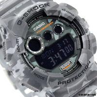 CASIO G-SHOCK Camouflage Series Camo Grey Watch GShock GD-120CM-8