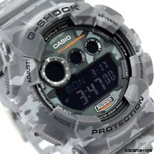 CASIO G-SHOCK Camouflage Series Camo Grey Watch GShock GD-120CM-8
