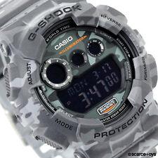 CASIO G-SHOCK Camouflage Series Camo Grey Watch GD-120CM-8 GD120CM-8