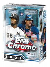 2021 Topps Chrome Baseball Card Base 1-220 You Choose MLB Cards