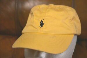 Polo Ralph Lauren Boy's Girls 4-7T White Adjustable Ball Cap Hat