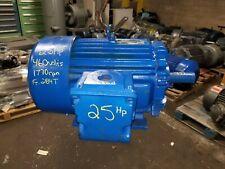 Rebuilt Toshiba 25 Hp Electric Ac Motor 230/460 Vac 1770 Rpm 284T Frame 3 Phase