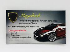 Magnetkarte Grip Magcheck Karosserie Lack Spachtel Prüfer Schichten lackprüfer