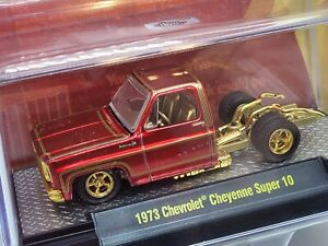 M2 Machines SEMA 1973 Chevrolet Cheyenne Super 10 Square Body 1 of 300 Chase