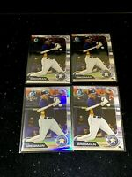 Alex Bregman (4) Lot 2019 Bowman Chrome Refractor/499 / Chrome Houston Astros