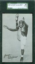 1948-52 Exhibit Card - George Taliaferro - NY Yanks - SGC 80 - PC Back