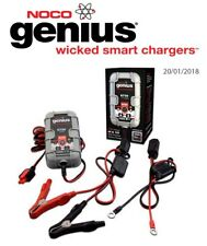 BMW R 850 C Flat bars 2000- 2001  Noco Genuis UltraSafe Battery Charger (G750)