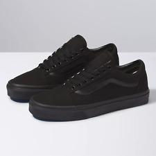 Vans Old Skool Skateboard Classic Black White Mens Shoes Sizes 7