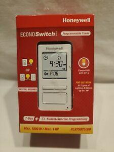 Honeywell PLS750C1000 EconoSwitch Pro 7-Day Programmable Timer