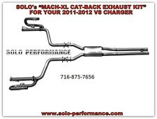 Solo Performance Cat Back RT Charger Performance Exhaust Raw American Muscle