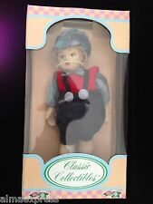 """NIB HandCrafted Porcelain Doll by Classic Collectibles """"Country Kids"""" Collection"""