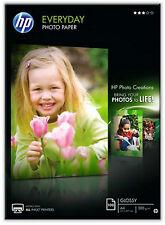 PAPEL FOTOGRAFICA GLOSSY INKJET HP EVERYDAY 100 HOJAS A4 200 GRAMOS