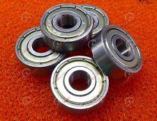 5 PCS - 627ZZ (7x22x7 mm) Metal Double Shielded Ball Bearing 627z