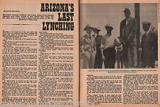 Arizona's Last Lynching - The Hanging of Van Ashmore+Family-Daly,Groff,Musgrove
