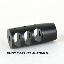 MUZZLE BRAKE TAIPAN 1/2''X 20UNF LITHGOW LA101 .22 CALIBER 22LR,22MAG,17HMR