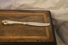 "Wallace Sterling Grande Baroque 9 3/4"" Dinner Knife"