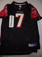 Atlanta Falcons Michael Vick 7 Reebok NFL Jersey XL 18-20 Youth Child Boys Black