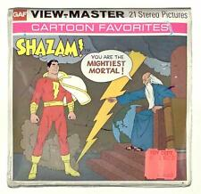 SEALED 1976 vintage GAF view master SHAZAM reel set DC COMICS captain marvel !