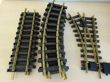 LGB 1210 Weiche & Gleise, 8 gebogene, 3 gerade, top Zustand