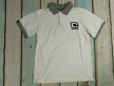 Carbrini Boys White Short Sleeved Polo Shirt Age 12-13 Years