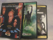DVD's Lot of 3 PG-13 Fast & Furious, Fifth Element, StarTrek Nemesis, Preowned