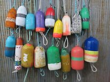17 Authentic Used Dungeness Crab Lobster Pot Buoys Bouys Floats (531A)