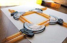 New Koala Tools Versa Ruler Multi - sided Ruler and Shape-making Tool (4-pack)