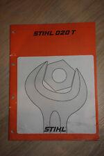 Reparaturanleitung für Stihl 020T