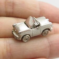 Vtg 925 Sterling Silver Car Charm