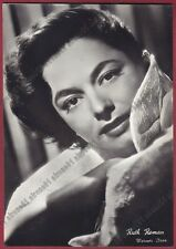 RUTH ROMAN 11 ATTRICE ACTRESS ACTRICE CINEMA MOVIE Cartolina FOTOGRAFICA 1954