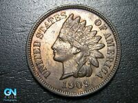 1909 Indian Head Cent Penny  --  MAKE US AN OFFER!  #B2702