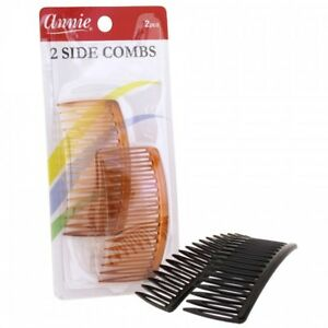 ANNIE SIDE COMBS LARGE 2 PCS #3201 & #3205