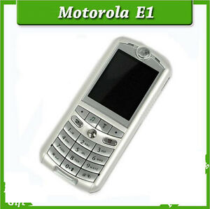 "Original Motorola E1 1.3MP Camera Bluetooth 1.9"" English Arabic Russian Keyboard"