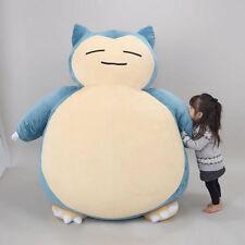 "59"" Pokemon Giant Snorlax Stuffed Plush Kabigon Doll Bed Xmas Kids&GF Gift - EMS"