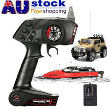 AU 2.4GHz 3CH Wireless Transmitter Receiver Controller for Universal RC Car Boat