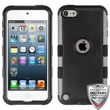 Carbon Fiber Black TUFF Phone Cover APPLE iPod touch 5th APPLE iPod touch 6th
