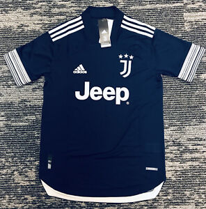 adidas Men's Juventus 20/21 HEAT.RDY Authentic Away jersey FN1007 Size M $130