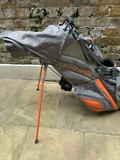 Cobra Stand Bag – 6 way – Grey/ Orange