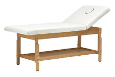 Lettino massaggio 1 snodo  in legno medicale massaggi estetica centro benessere