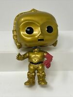 FUNKO POP! STAR WARS THE FORCE AWAKENS #64 C-3PO VINIL FIGURE BOBBLE-HEAD DISNEY
