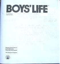 Boys' Life - February 2018 (Braille for the blind teen) English, Monthly