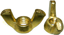 3/8-16 Wing Nuts Solid Brass Quantity 25