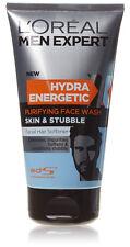 Loreal Menexpert Hydra Energetic Purificante Lavaggio Viso Pelle & Stubble 150ml