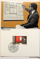 LIECHTENSTEIN  N° 49 HOMME ET TRAVAIL   Carte Postale Maximum  LIE23