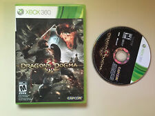 Dragon's Dogma Xbox 360 X360 Game and Case