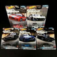 2020 HOT WHEELS PREMIUM Fast & Furious FULL FORCE COMPLETE SET OF 5