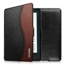 For Amazon Kindle 8th Gen eReader 6 inch 2016 Leather Case Cover Wake / Sleep